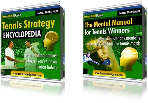 Tennis Strategy and Mental Strength Book